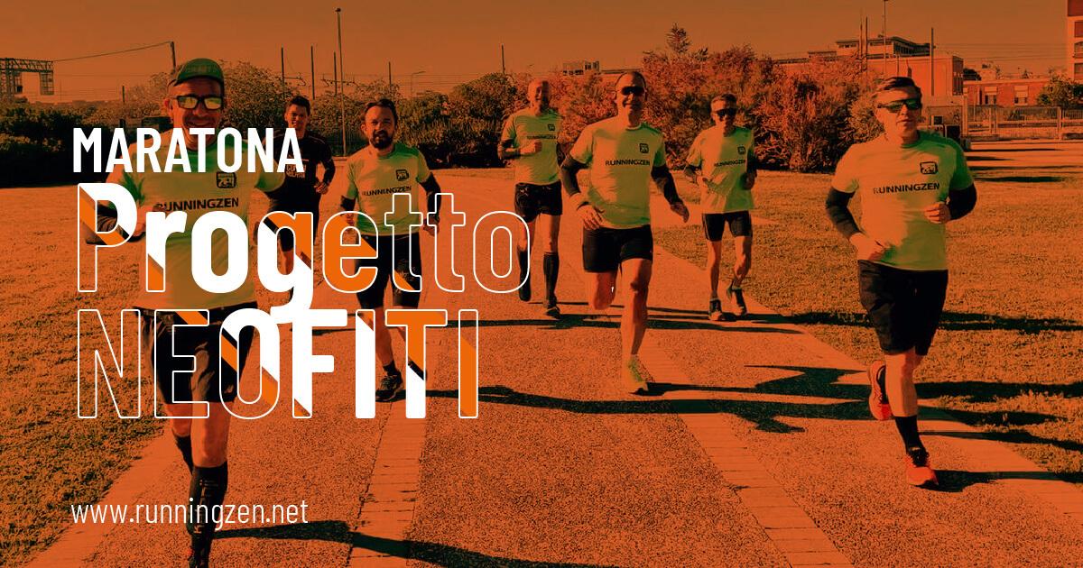 Progetto neofiti maratona